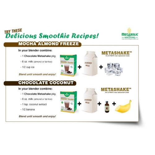 picture of the back of the box of the chocolate metabolic webstore metashake